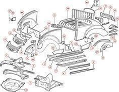 Quality Parts Volkswagen Beetle Vintage Volkswagen Volkswagen