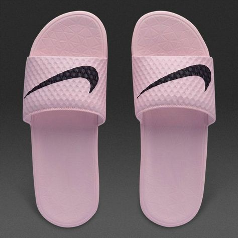 cbcc2e73e915 2018-2019 Summer Authentic Official wms Nike Benassi Kawa Solarsoft bath  slippers pink