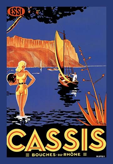 Cassis Bouches Du Rhone Art Print 9785870731797 Buyenlarge New Sailboats Ships Vintage Advertisements Vintage Advertisement Vintage Posters