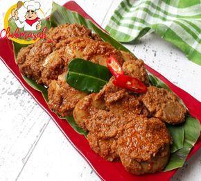 Resep Rendang Jengkol Empuk Tidak Bau Enak Dan Lezat Resep Rendang Jengkol Resep Masakan Indonesia Masakan