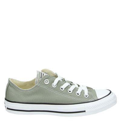 Converse Chuck Taylor dames lage sneakers groen | Converse ...