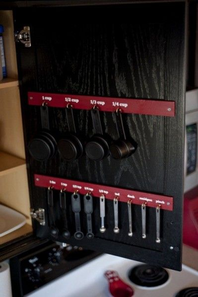 diy kitchen idea for inside pantry door