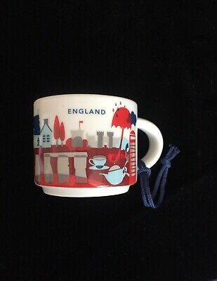 Starbucks You Are Here Collection Ornament Japan 2oz Demi Cup