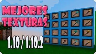 Los Mejores Pack De Texturas Minecraft 1 10 1 10 2 Texture Pack 1 10 1 10 2 Texture Packs Minecraft Texture