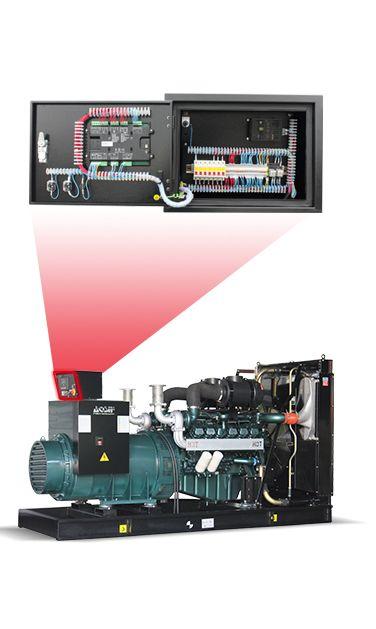 Aosif Doosan 400kw 410kw 520kva Compact Power Diesel Generator Set Open Type Diesel Generators Soundproof Box Generator Price