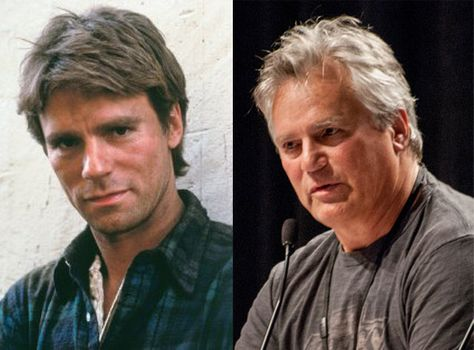 Richard Dean Anderson I can't believe they r one and the same. Maybe Richard should do Nutrasystem he could definitely stand to lose the weight.