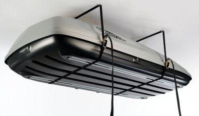 Rooftop Cargo Box Lift Thule Recherche Google Roof Box Car Roof Box Garage Lift