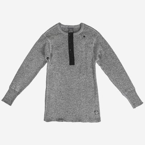 Sitka Men's Wool Sitka x Stanfield's Henley  - MADE IN CANADA