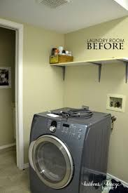 Laundry Room Ideas Small With Top Loading Washer Storage Shelves Organization