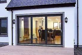 We Have Several 3 Panel Aluminium Doors For Sale All Are New With Glazing And Door Furniture Sliding Doors Exterior Sliding Patio Doors Bifold Doors
