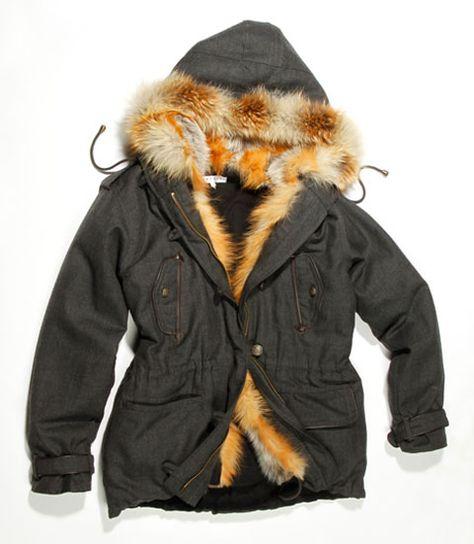 Parka arctic sandro homme