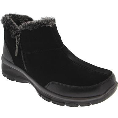 Skechers Easy Going Zip It Casual Boots Womens With Images