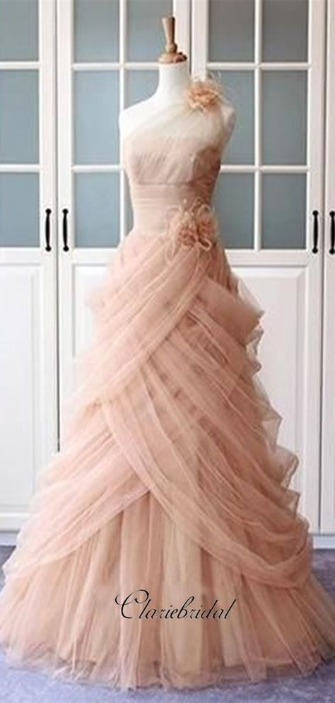 fc0c6d77ec5 Tulle Elegant Party Prom Dresses