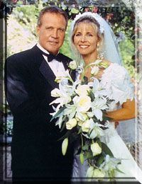 Lee Majors As Steve Austin The Six Million Dollar Man Lindsay Wagner As Jamie Sommers The Bionic Woman Wedding