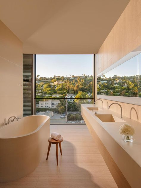 We visit John Pawson and Ian Schrager's latest collaboration in West Hollywood LA Edition's The Residences by John Pawson are
