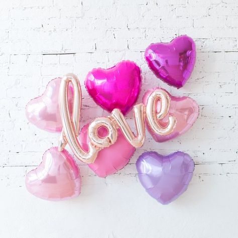 Love Backdrop Balloons / Engagement Party Decorations Balloons / Wedding Balloons / Love Balloons /