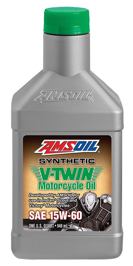 Do You Have A Victory Or Indian Motorcycle Amsoil 15w 60