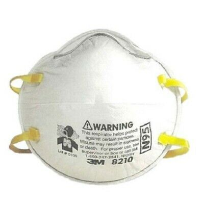 3m 8210 n95 particulate respirators dust mask