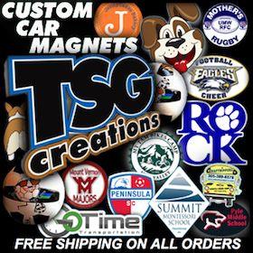Custom Car Magnets Custom Balls Soccer Basketball - Custom car magnets decals
