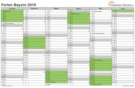 Kalender Mit Schulferien Bayern 2019 Kalender 2019 Mit