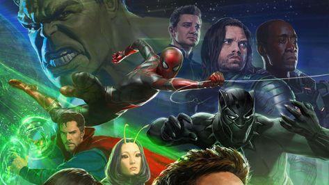 Avengers Infinity War best of fonds d'écran