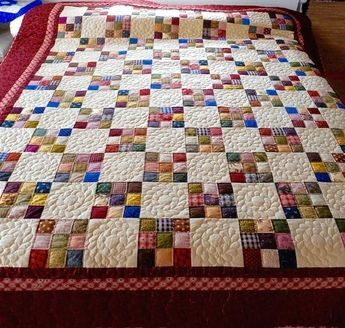 Easy 4 Patch Quilt Patterns 9 Patch Quilt Patterns For