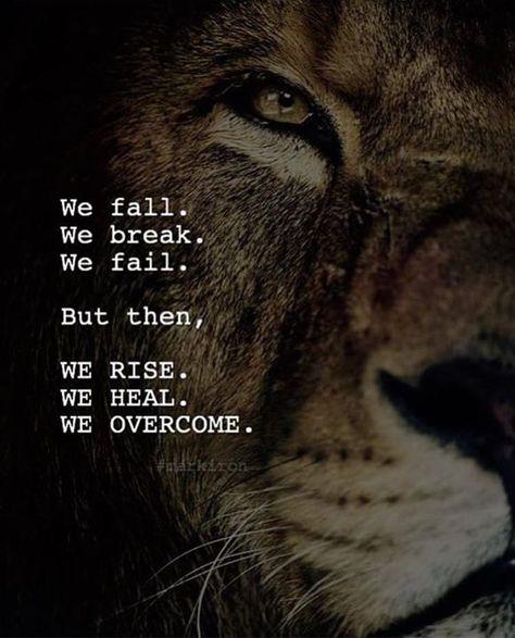 We rise. We heal. We overcome.
