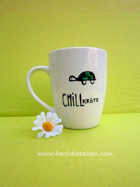 Tasse ♥ Geschenk CHILLkröte Kaffeetasse