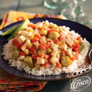 Chicken Gumbo with Rice from Crisco®