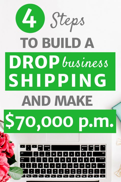 Make money from home with your own dropshipping business!