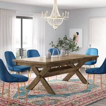 Caterina Extendable Solid Wood Dining Table Reviews Joss Main Dining Table Farmhouse Dining Table Extendable Dining Table