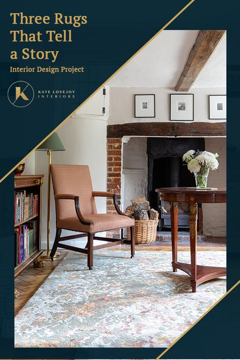Unique Rug Design | 3 Rugs That Have a Story Woven Through Them... | Kate Lovejoy Interiors