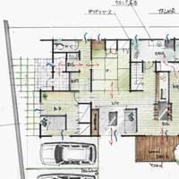 家事室と洗濯スペースが効率的につながる動線が良い間取り 2階 間取り 間取り 32坪 間取り