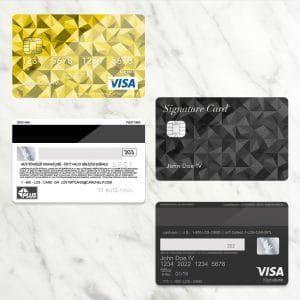 Shop Free Bank Card Credit Card Psd Template Donation Zamartz Card Templates Free Bank Card Cards