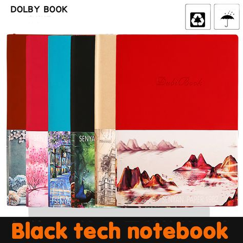 2020 Creative Smart Backup Reusable Erasable A5 Notebook Moriwa Paper Waterproof Paper Pocket Diary