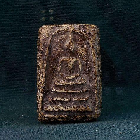 PHRA LP RARE OLD THAI BUDDHA AMULET PENDANT MAGIC ANCIENT IDOL 99
