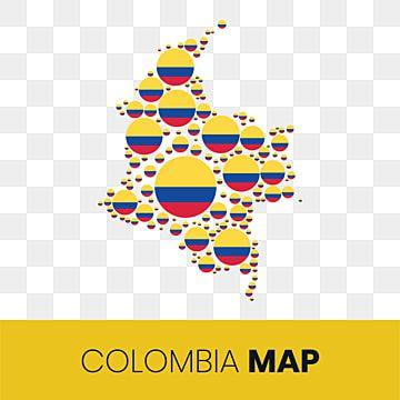 Mapa De Colombia Lleno De Circulos En Forma De Bandera Mapa De Colombia Con Bandera Colombia Mapa Mapa Colombia Png Y Vector Para Descargar Gratis Pngtree Mapa De Colombia Mapas