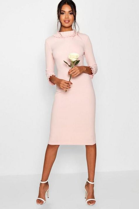 New Lizzie Pleat Detail Midi Dress online. Find great deals on womens-dresses from top womens dresses store - finddressonline