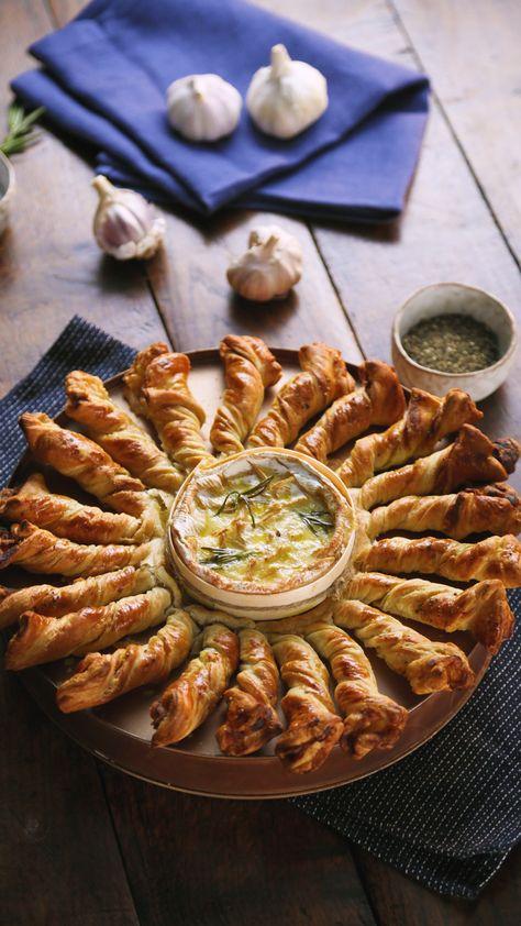 Palitos de Tocino y Camembert