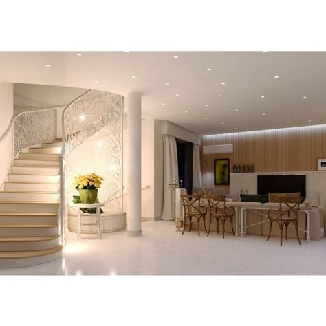 Cozy dynamic house design with the modern concept mezzanine ceiling window floating staircase dynamic duplex interior anahitafurniture com house