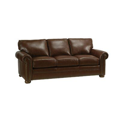 Omnia Leather Savannah Sleeper Sofa