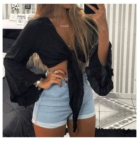 sneakers fashion outfits summer crop tops