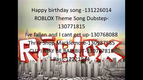 Roblox Happy Birthday Song Youtube Roblox Music Codes Funny Getrobloxmusic In 2020 Happy Birthday Song Roblox Birthday Songs