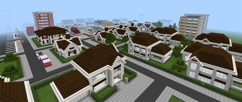 Big Venom City Creation Minecraft Pe Maps City Big City Map