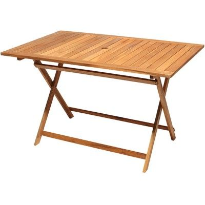 emejing table de jardin bois gifi pictures - awesome interior home