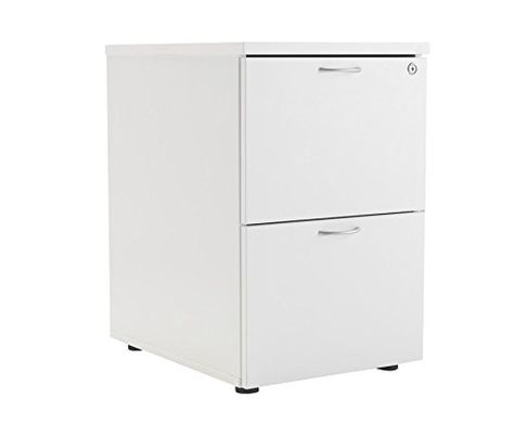 Office Hippo 2 Drawer Filing Cabinet Pre Embled Wood