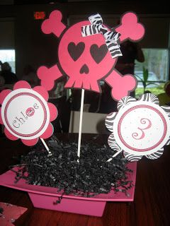WhichCraft: Girly Jolly Roger Pirate party
