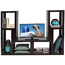 Divider Furniture whalen furniture - modular pair of room dividers - american tv