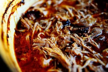 Spicy Dr. Pepper Shredded Pork. Unbelievable flavor! Serve it with buns, tortillas...anything goes!