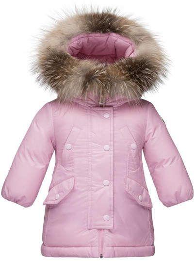 8464e21c9 Moncler 'Arrious' Water Resistant Genuine Fox Fur Trim Hooded Down ...
